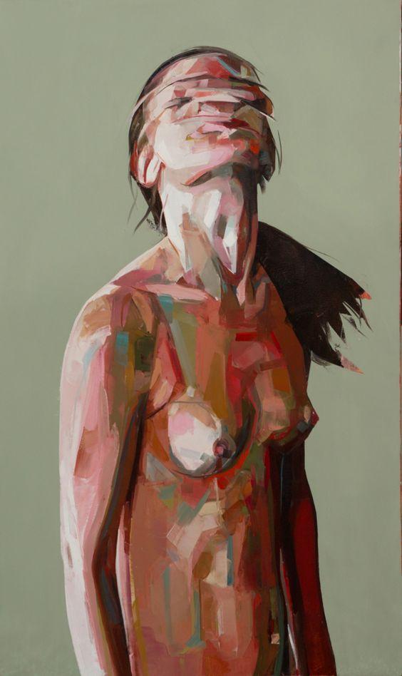 Paintings 2012 by Simon Birch, via Behance