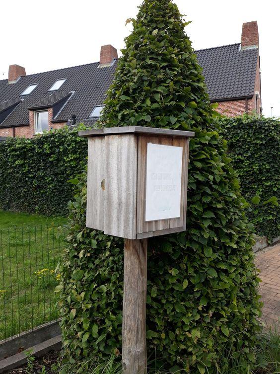 Boekenruilkast Sint-Pieters Brugge