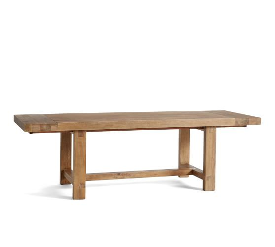 Reed Extending Dining Table Reclaimed Wood Dining Table