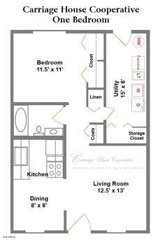Two Level Floor Plans 1 Bedroom 1 Bath One Bedroom 1 Bedroom House Plans One Bedroom House Plans One Bedroom House