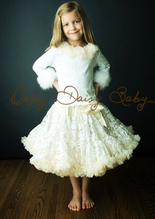 Ivory pettiskirt on clearance at Oopsy Daisy baby $48