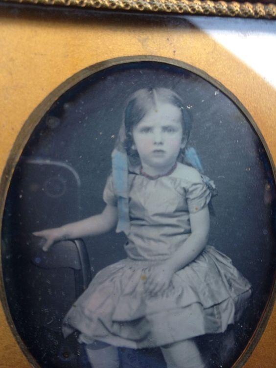 1 6 Daguerreotype  Tinted SEALED