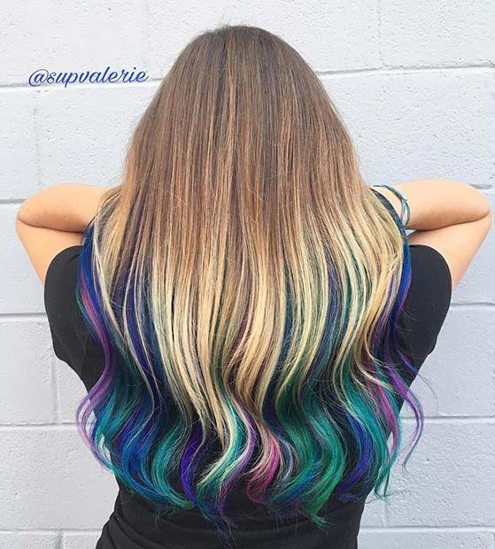 15 Unicorn Hair Tips Hair Dye Tips Colored Hair Tips Purple