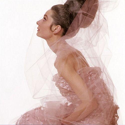 Audrey Hepburn, Vogue, Paris, 1963  Photographer: Bert Stern  Dress by Givenchy Haute Couture