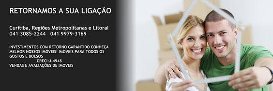 VENDA SEU IMÓVEL EM MENOS TEMPO, RETORNAMOS A SUA LIGAÇÃO IMOVEIS EM CURITIBA E REGIÃO Vitória Imóveis Curitiba - Os Melhores imoveis a venda.