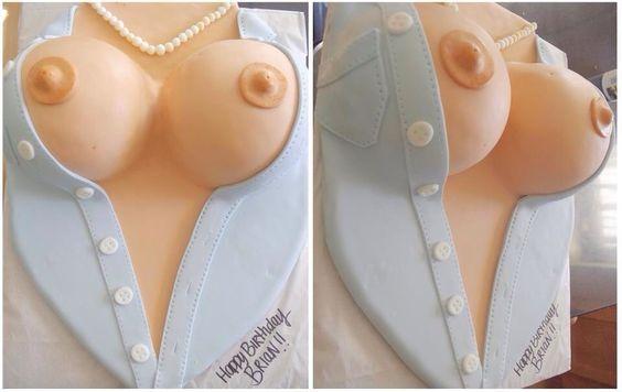Boob cake