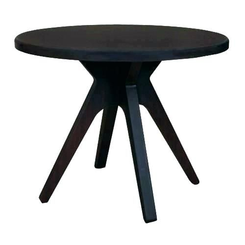 Inspirational Small Round Wooden Side Table Pictures Small Round