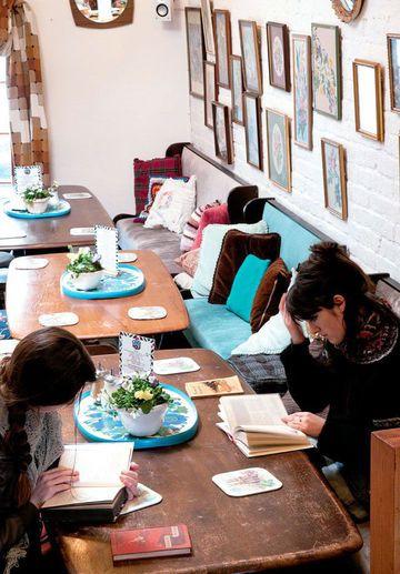 Vintage Haven & Cake Hole Café, London
