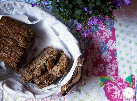 Hirse Zucchini Brot mit Paranüssen im freestyle Modus | Marille's CuisineMarille's Cuisine