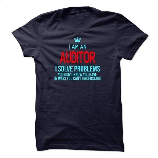 Im A/An AUDITOR - #white tee #sleeve tee. ORDER NOW => https://www.sunfrog.com/LifeStyle/Im-AAn-AUDITOR-29289509-Guys.html?68278