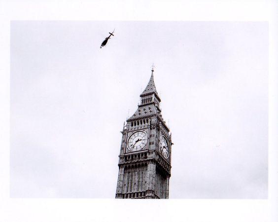 London - Big Ben (argentique)