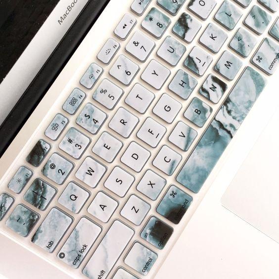 Macbook Keyboard Cover - Marbled