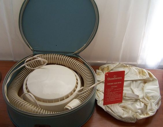 Old Fashioned Bonnet Hair Dryer