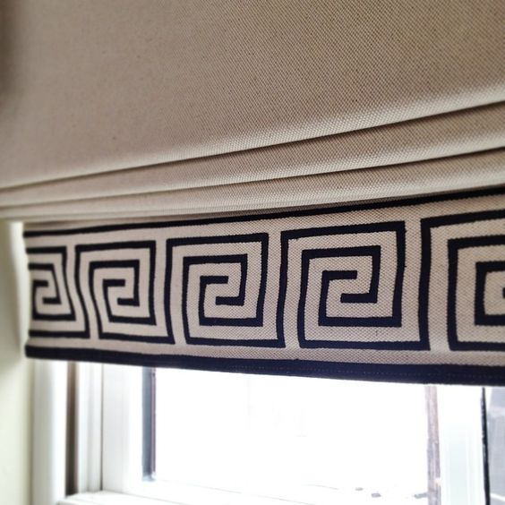 SnapWidget | custom roman shades in a clients bedroom.  #schumacher #kellyrobsondesign #philadelphiainteriordesign