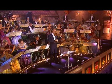 Andre Rieu Live In Italy 2003 Youtube In 2020 Andre Rieu Living In Italy Orchestra