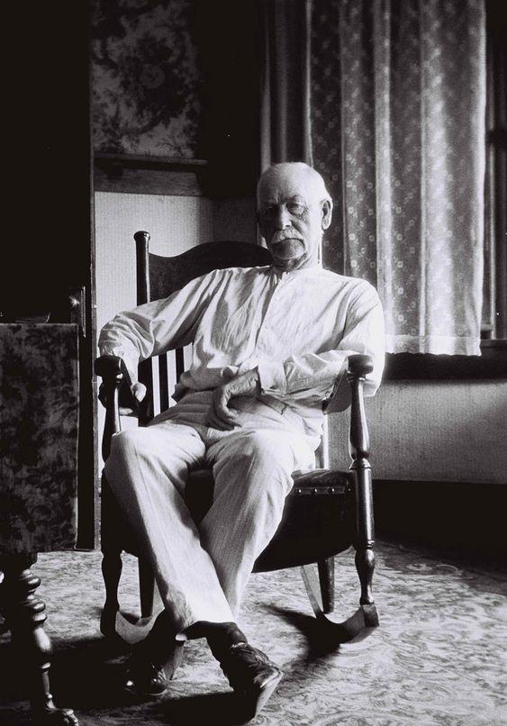 Wyatt Earp in 1923, age 75