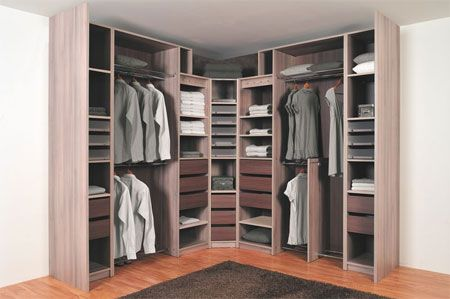 dressing d 39 angle marron clair id e organisation. Black Bedroom Furniture Sets. Home Design Ideas