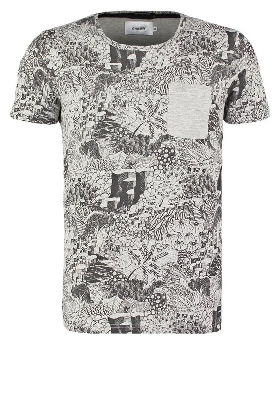 Chasin' BOTAN - Camiseta print - black - Zalando.es