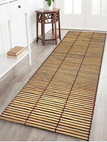 Bamboo Mat Printing Anti Skid Indoor, Can Bamboo Rugs Be Used Outdoors