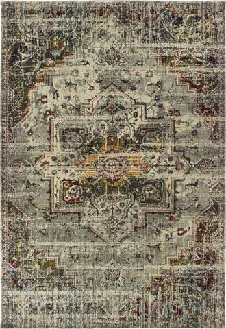Oriental Weavers Mantra 1901x Grey Ivory Area Rug In 2020 Area