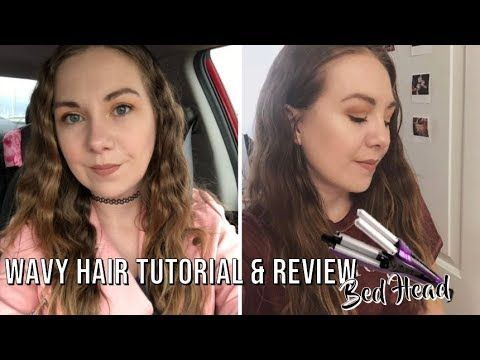 Bed Head A Wave We Go Adjustable Hair Waver Wavy Hair Tutorial Review Youtube Wavy Hairstyles Tutorial Hair Tutorial Hair Waver
