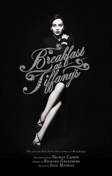 Breakfast at tiffanys broadway emilia clarke