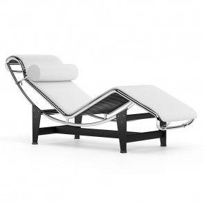 Lc4 Chaise Longue White Chaise Longue Chaise Le Corbusier