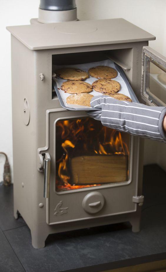 Hazelnut and dark chocolate cookies baked in the Dartmoor ...