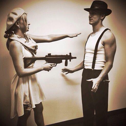 Bonnie and Clyde Halloween costume | Halloween | Pinterest ...