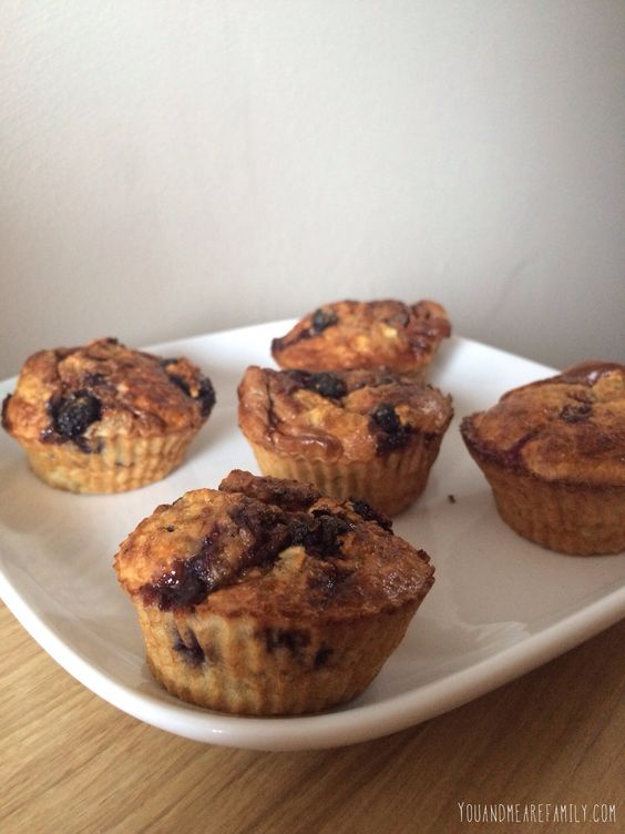 Baked Oat Muffins ~ Slimming World Friendly  - You And Me Are Family