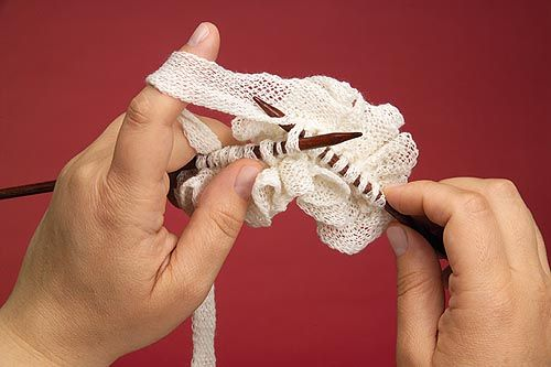 Learn to Knit : Knitting with Ruffles Yarn : Frequently-Asked Questions (FAQ) about Knitting and Crochet : Lion Brand Yarn