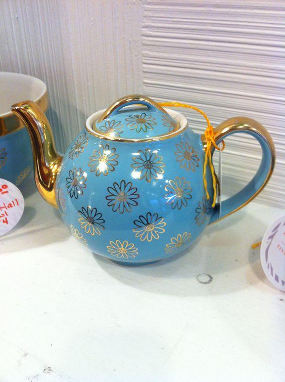 Vintage teapot.