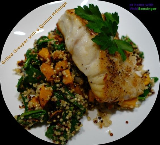 Grilled Grouper with Quinoa 3