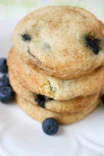Bakergirl: Blueberry Snickerdoodles.: