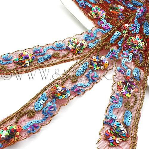 TURQUOISE TRIM trimming,EMBELLISHMENT,costume,pageant,ART,FASHION,CRAFT,ART