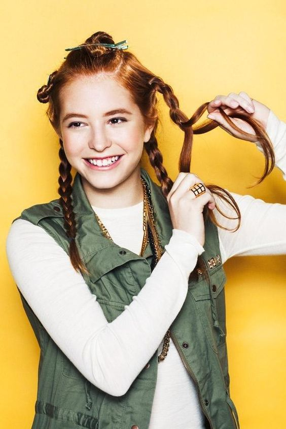 Hair hack! How to get perfect wavy hair with a straightener: Begin Braiding