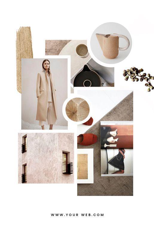 Feminine Mood Board Templates Mood Board Design Mood Board Fashion Interior Design Mood Board