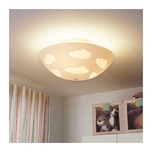 Skojig 天花燈 Ikea Affordable Furniture How To Clean Furniture Ceiling Lamp White