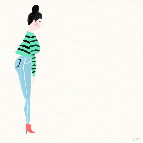 Las ilustraciones animadas de Libby VanderPloeg llenan de color tu pantalla y harán que te quedes embobada mirándolas durante un buen rato :)