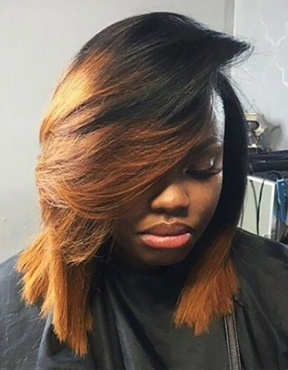 Black Celebrity Hairstyles Cute Short Haircuts For Black Girls Funny Ponytail 20190118 Long Bob Hairstyles Hair Styles Bobs Haircuts