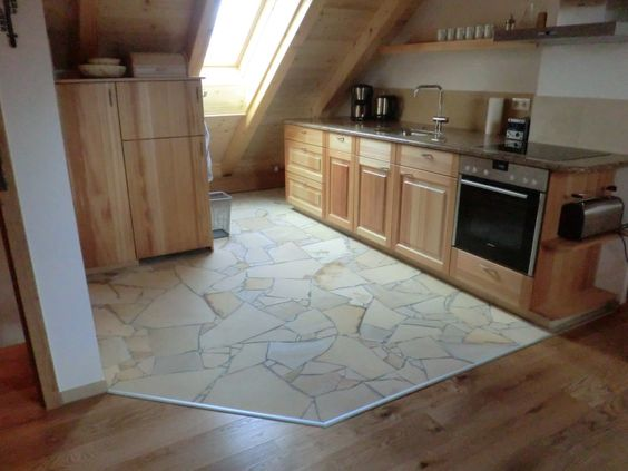 Solnhofener Polygonalplatten - Küche