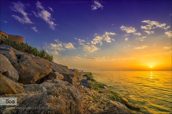 Indian summer colors - Pinned by Mak Khalaf Fine Art sea seascape water front seashoresunbeam sunrise beam nikon d800 hdr vacation holiday fishing waterfront marina portforeshore clouds sky storm stones sand waves boats sunset summer colors by Magic_Med