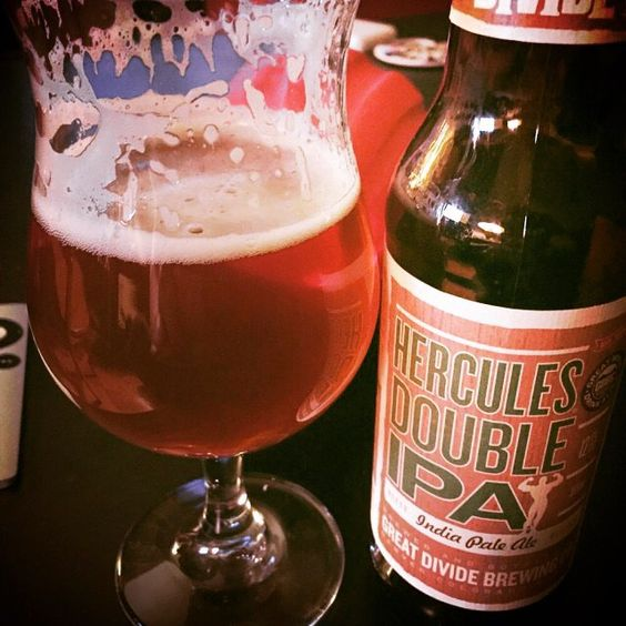 Just when I think I'm tiring of hop bombs along comes a perfect double IPA like this. Layered textures for a complex and heavy wallop - Hercules Double IPA by @greatdividebrew  #greatdividebrewing #hercules #untappd #craftbeer