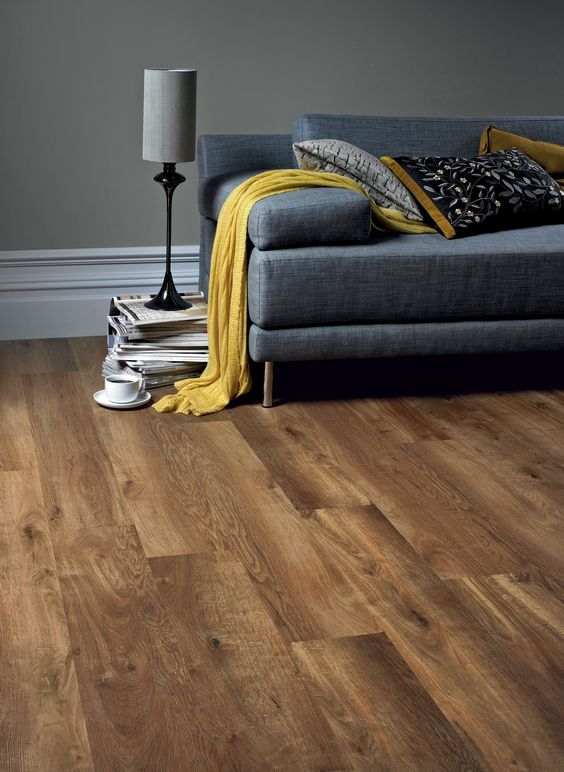 Karndean wood flooring - Classic Oak by @KarndeanFloors available from Rodgers of York #flooring #interiors: