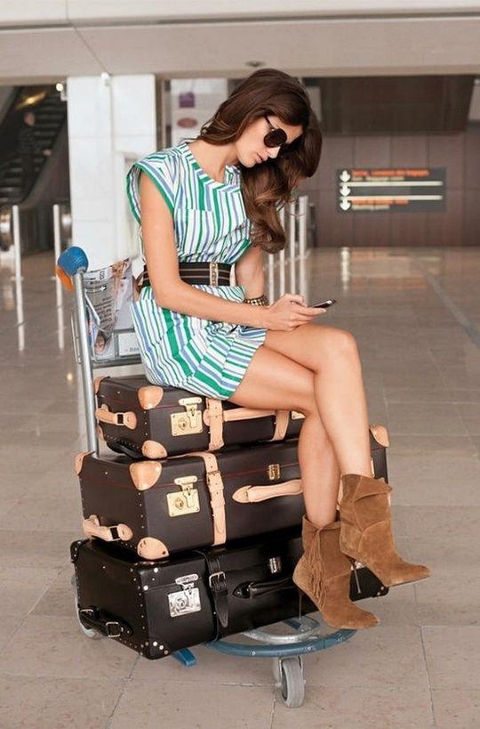 Lelia Costa: Viajar com estilo: looks para copiar!