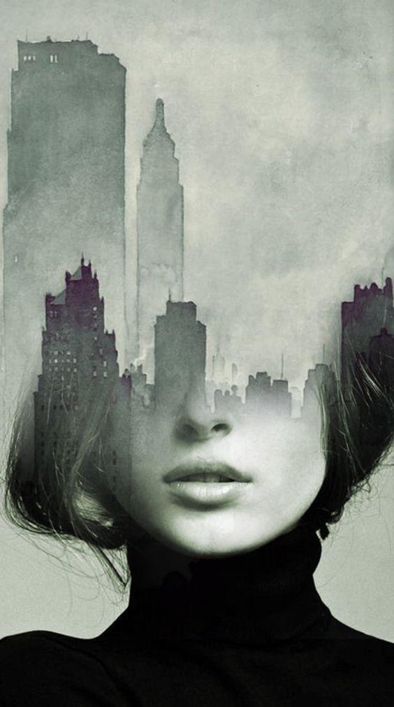 Antonio Mora. Where Dreams Will Take You - Double exposure