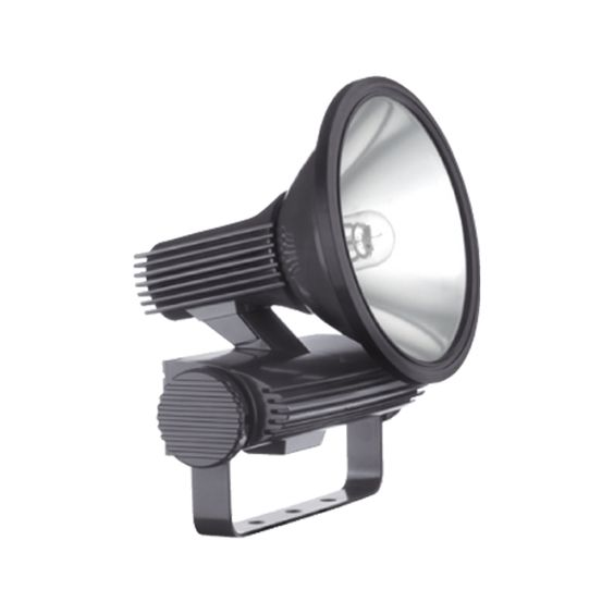 "An 'oldie but goodie': The ""EYE Urban Act β"" is a high-quality range of compact floodlights for metal halide / ceramic metal halide lamps, with integrated control gear. The round type (pictured) is ideal for spotlighting."