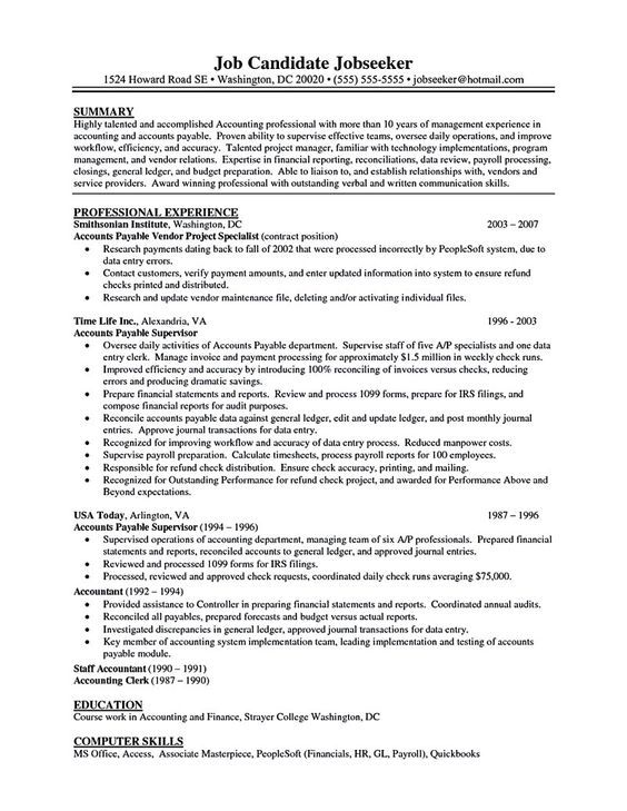 Accounting Specialist Resume Delectable Gerald Agm Geraldagm On Pinterest