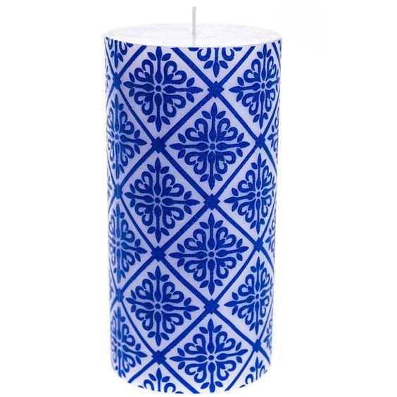 3x6 Glitter Metallic Pillar Candle | Home Furniture | Candles Fragrance | Pillar…