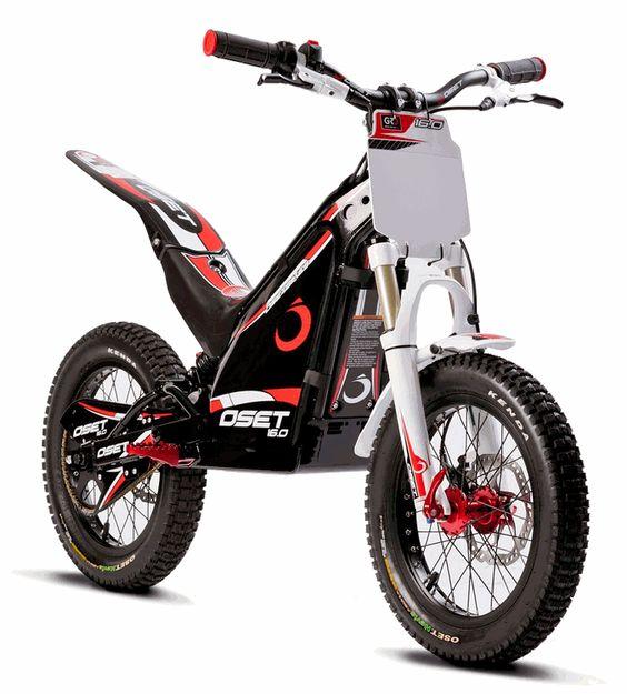 16 0 racing oset electric trials bike for kids hok9. Black Bedroom Furniture Sets. Home Design Ideas
